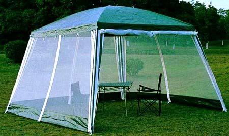 шатер с москитной сеткой