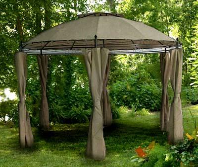 шатер из полиэстера