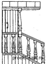 схема простого деревянного крыльца