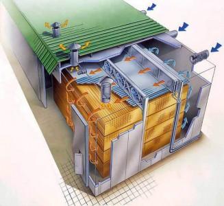 конструкция камеры для сушки древесины