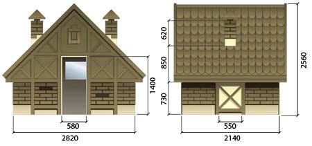 схема домика для ребенка