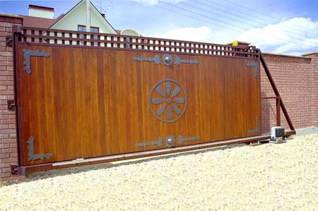 широкие ворота