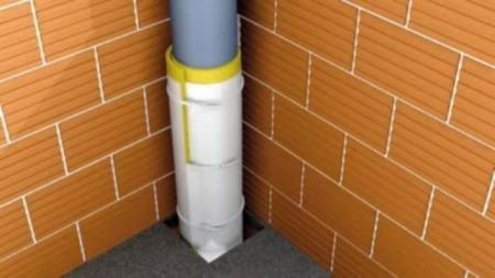 шумоизоляция стояка канализации