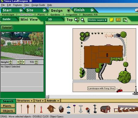 Sierra Land Designer