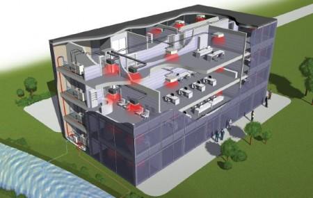 система вентиляции и кондиционирования гостиницы