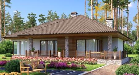 скандинавский стиль дом