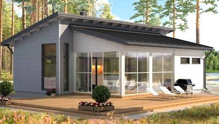 проект дом скандинавский стиль
