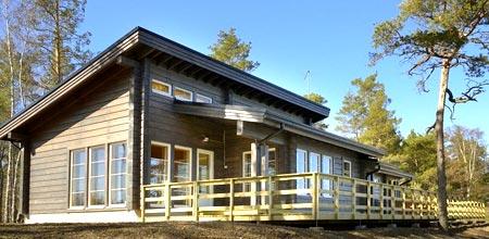 окна скандинавский дом