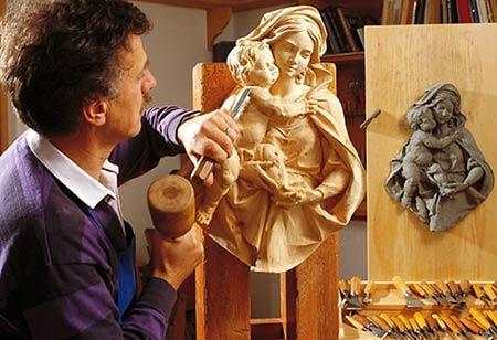 резьба скульптура