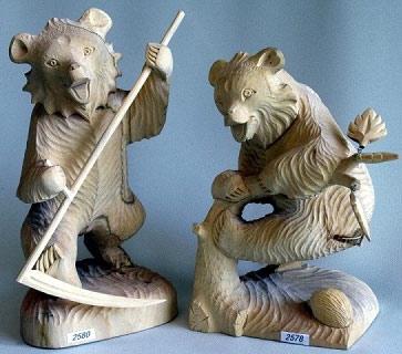 резные скульптуры