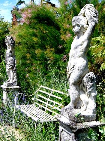 английский сад скульптуры