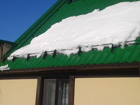 снегодержатели