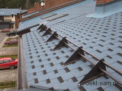 снегозадержатели для крыши дома