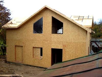 крыша щитовой дом
