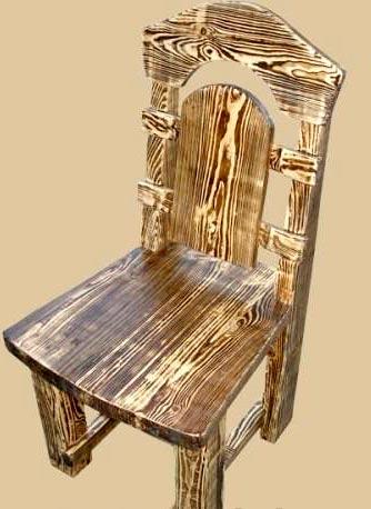 состаривание стула