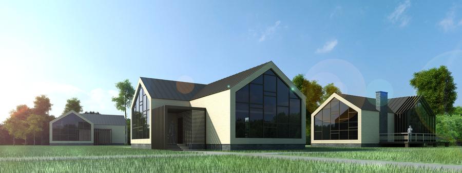 Строительство модульного дома 189
