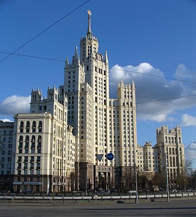 сталинская высотка в стиле ампир 30-х годов