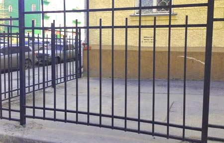 стальной забор