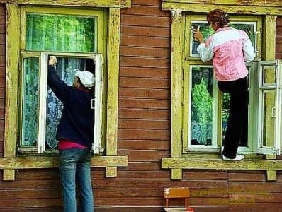замена старых окон в частном доме