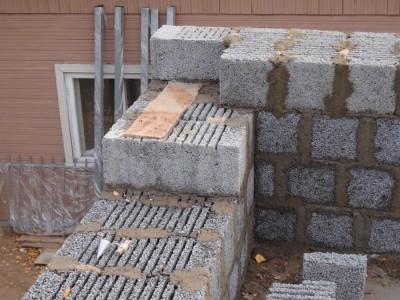 стены из керамзитобетона