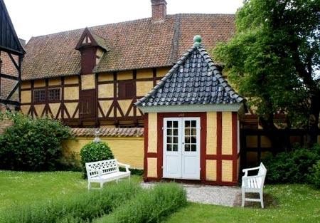 датский стиль дома
