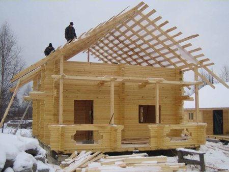 189Строительство дома своими руками крыши