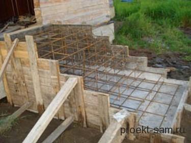 строительство деревянного крыльца