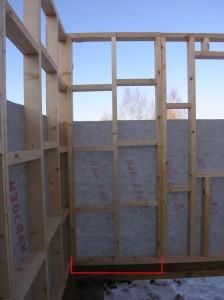 строительство дачного щитового дома