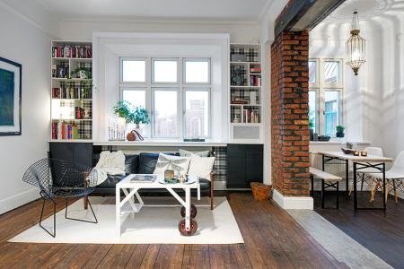 перепланировка однокомнатной квартиры в квартиру студию