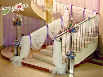 украшение дома на свадьбу