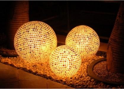 садовые светильники в стиле хай-тек