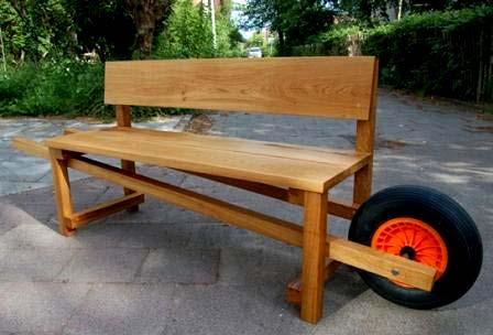 тачка-скамейка