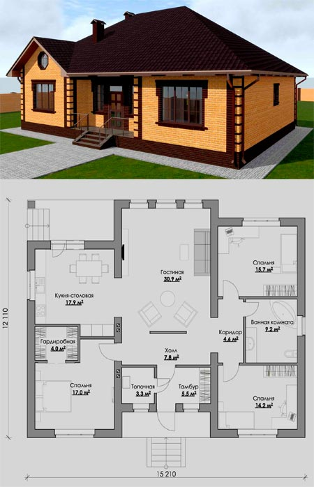 типовый проект дома