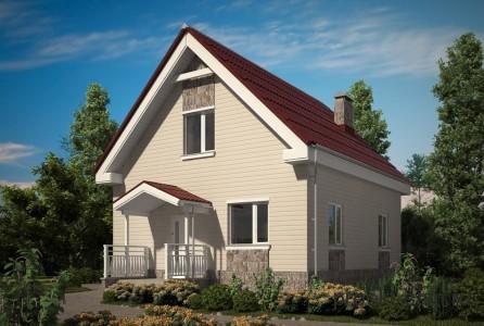 типовой дом из сип панелей