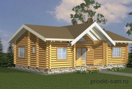 типовой проект деревенского дома