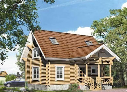 типовой проект деревянного дома