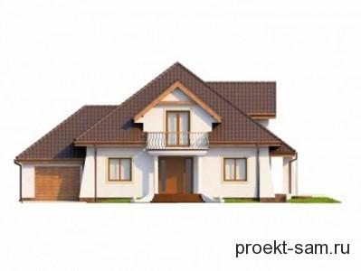 простой типовой проект дома