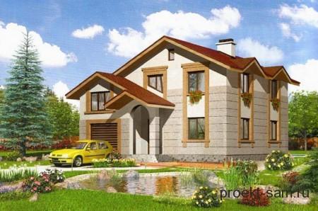 типовой проект двухэтажного дома
