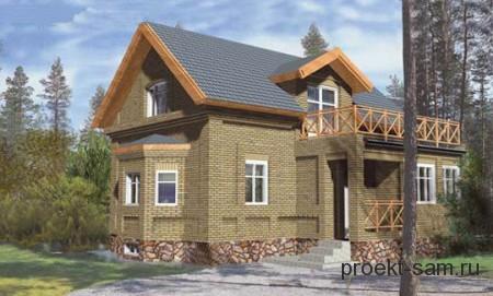типовой проект кирпичного дома