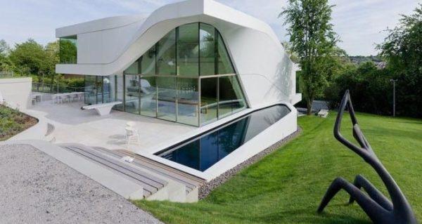 бионический фасад дома