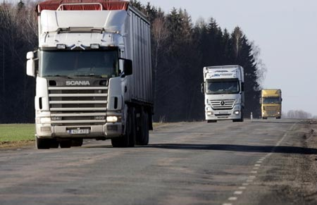 трасса для грузовых перевозок
