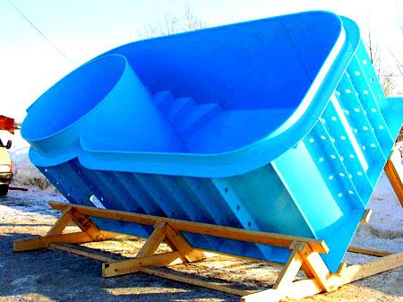бассейн из магазина