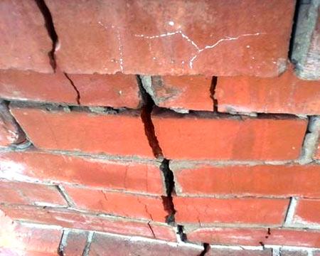 ремонт кирпичный забор