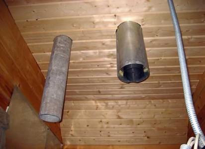 трубы для дымохода в деревянном доме
