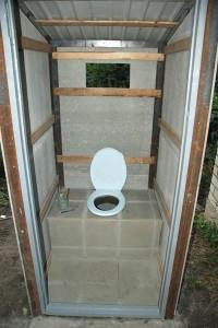 туалет из шифера