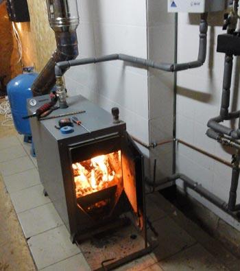 Самодельный водяной котел для отопления частного дома 40