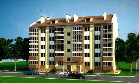 проект пятиэтажного одноподъездного дома