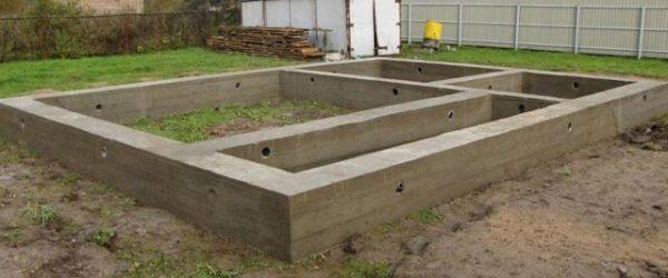 бетонный буронабивной фундамент