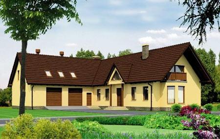проект углового дома