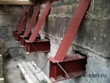 укрепление кирпичных стен